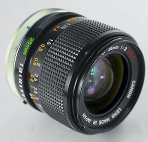 Canon FD 35mm f2.0